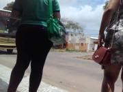 Sexy jeans at the bus stop - voyeur parte02