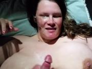Bbw titty fuck