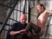 Stinging nettle bdsm and amateur bondage of tortured slaves