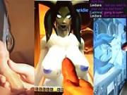 Cum Tribute to Leidiara Draenei, World of Warcraft