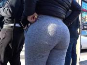 LOUDMOUTH PAWG IN GREY
