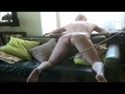 naked Russian caning