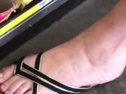 Fancy milf feet