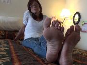 Hostess of the Hotel Soles Feet
