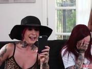 Emo schoolgirl pounded by huge black cock