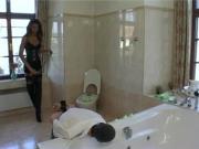 Mistress training a slave
