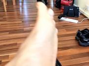 Just my dirty feet