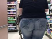 Chunky bbw in jeans