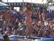 Wet Nude Sluts Pool Party at KEY WEST Fantasy Fest