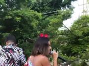 Flagrando o Bumbum Da MarianaRios No Carnaval 2 2020 HD