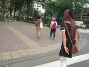 Japanese Crossdresser Amane Outdoor 13