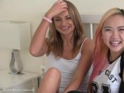 Lesbian with Ivana Sugar