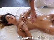 PornPros Slippery oiled massage fuck