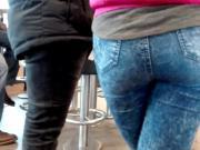 Teen ass in McDnlds