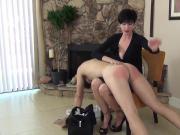 Over the Babysitter's Knee spanking