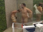 BB 4 Slovenia Adnan Klemen Filip Shower voyeur ducha reality