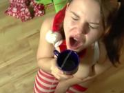Santas X-mas Helper and Piss-Slut