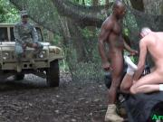 Army troop blow black colonel
