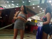 Duas novinhas vagabundas no shopping