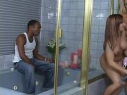 Black Plumber Plugs Katja Kassin's Ass With His Black Tool
