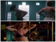 Alison Brie vs Gillian Jacobs - topless clip comparison