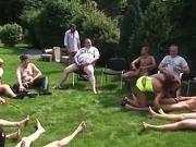 Susanne Gets Ravaged At Yet Another German Gangbang!