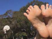 blond feet exhib