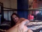 Manchester Couple 2 - Pink Chair Dildo Riding