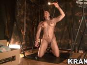 Krakenhot - BDSM casting with a muscular woman