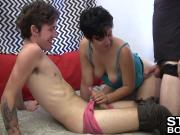 Nikki almost turns two bisexual dudes straight fully