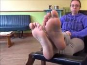 Sexy Nerd Soles Feet - 23 Years Old