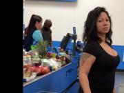 Latina Mami With Massive Cleavage