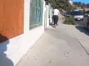 Big plump ass candid street