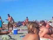 si tromba in spiaggia amatoriale