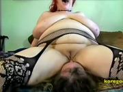 Heavy duty big boob face sitter