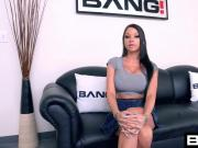 BANG Casting: Raven Bay Straight A Slut Tripple D Tits