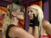 Lingerie loving mistress punishes her sub