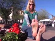 Sexy Mature With Cute Feet