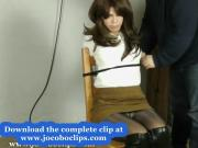 Handcuffed Girl In Bondage - Jocoboclips.com