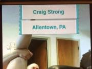 Tiny dick Craig Strong Allentown, Pa naked