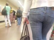Nice small ass go to the train