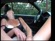Sexy Gabriela's First Outdoor Dogging