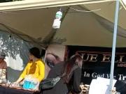Flaquita en pantimedias negras Malecon La Paz
