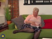 Chubby GRANNY Babet needs anal and vaginal sex