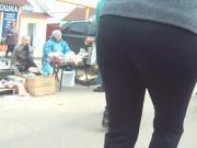 Big ass in black pants 2