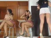 Naughty Babes Enjoy Piss Play with their College Teacher