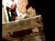Bangladeshi Village Aunty's Out door Dress Changing Openly