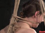 Suffocation tied sub Sierra Cirque caned