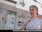 TeensLoveMoney - Desperate Teen Fucks For Money