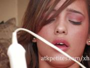 Melanie Rios Goes for A Round with the Hitachi